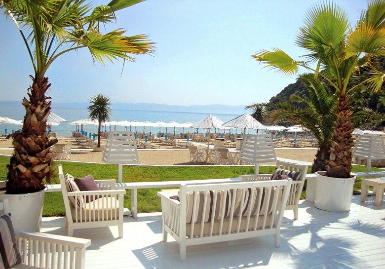 Manassu Beach Bar, Sithonia-Halkidiki, Grecia