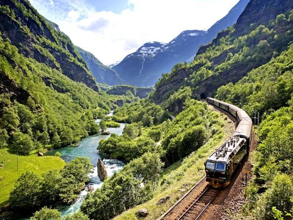 Passeios de Trem pela Europa