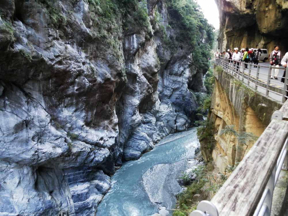 Estrada Taroko Gorge, Tawan