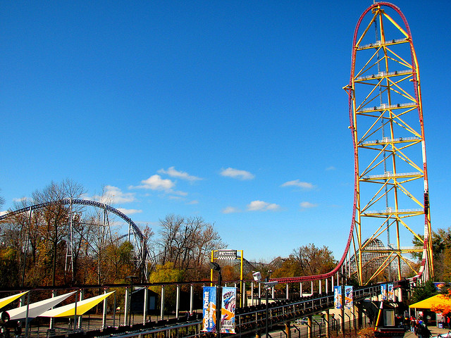 Top Thrill Dragster - Estados Unidos