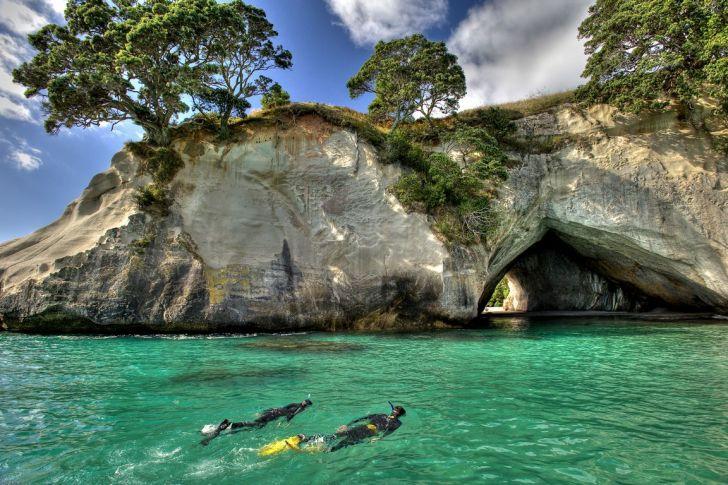 Cathedral Cove, Península de Coromandel