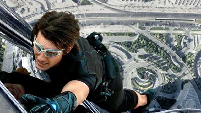 Cena do filme em Dubai