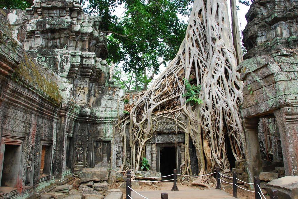 Cenário de Tomb Raider, Camboja