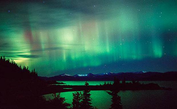 Aurora Boreal no Alasca