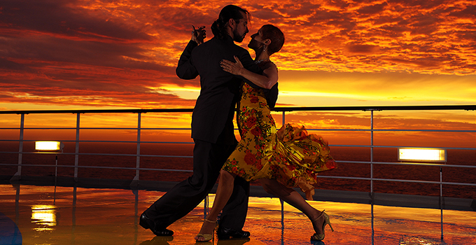 A bordo do Cruzeiro Tango & Milonga