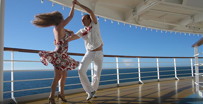 Dançando a Bordo